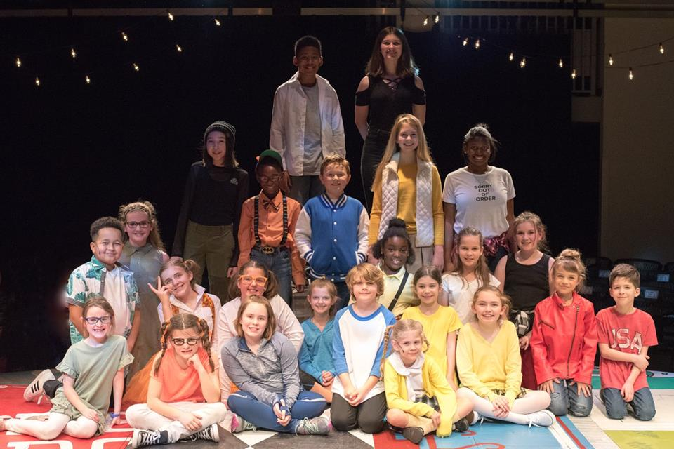 Godspell Jr Full Company