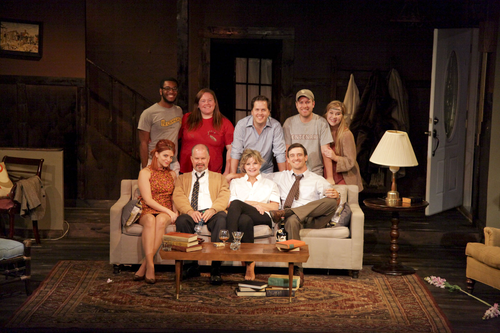 Stage Center - Who's Afraid of Virginia Woolf?