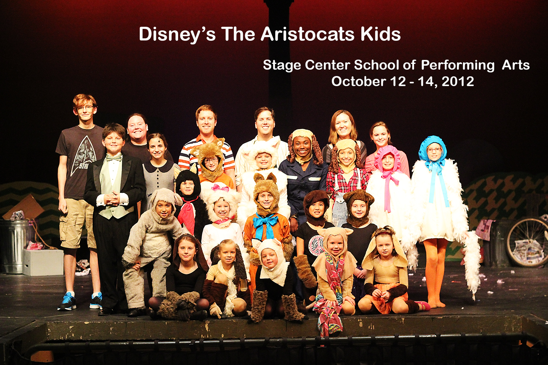 Aristocats cast & crew share