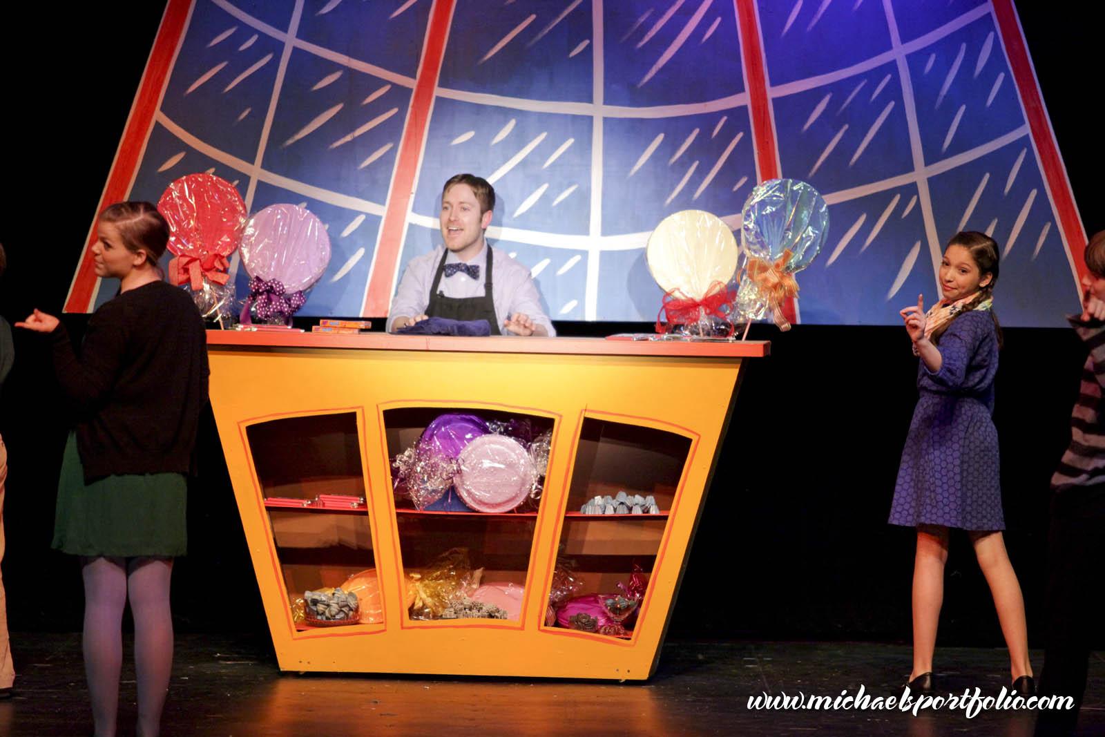 Stage Center - Willy Wonka